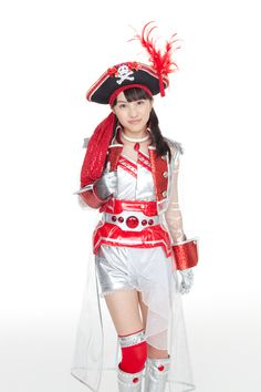 Captain Kanako the space pirate, one of my favorite costumes!
