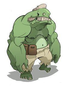 Monster Cartoon Character