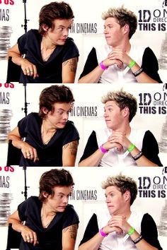 Harry Styles and Niall Horan. This has got to be my favorite picture. Ever.