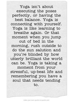 yoga and your soul