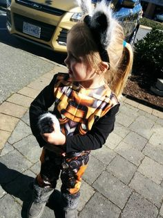 Rocket Raccoon from Guardians of the Galaxy: | 26 Kids Who Won Halloween With Their Gender-Bent Costumes