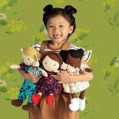Brands can back equality through their products and their advertising. @manhattantoy does a super job highlighting diversity. This pic is adorable! • Thanks to @jillsanborne for sharing it! #manhattantoy #spreadjoy #teachkidswell #sellingthingsthatmakepeoplehappy #funstartshere #beagoodhuman Doll Toys, Baby Dolls, Bow Design, Dollhouse Dolls, Imaginative Play, Soft Dolls, Baby Boutique, Doll Accessories, Baby Kids