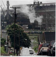 Working Class Neighborhood/LTV, Cleveland, Ohio, 1995 Jeff Brouws (American, b. 1955)