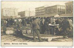 napoli -naples - mercato dell erba