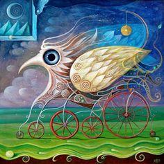 Steppe Rider by ~FrodoK - Acrylic.