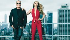 """Michael Kors on his muse, Blake Lively, """"Even in the most glamorous dress, Blake still looks at ease."""""""