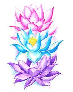 Lotus Flowers Pullover Hoodie!