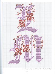 Gallery.ru / Фото #79 - belles lettres au point de croix - moimeme1
