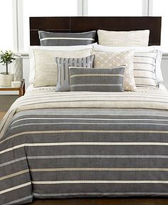 Hotel Collection Modern Colonnade King Sham - Bedding Collections - Bed & Bath - Macy's