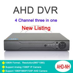 Three in one DVR 4 Channel 1080P/1080N/960P/ 720P/ 960H  Dahua Case Zhiyuan Chip NVR AHD-NH DVR Only Free Shipping To Russia #women, #men, #hats, #watches, #belts, #fashion, #style
