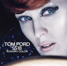 Karen Elson, Tom Ford, Toms, Runway, Stylists, Makeup, Color, Cat Walk, Make Up