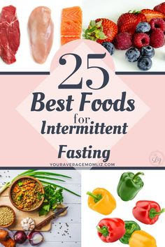 These are the top 25 foods to eat when using the intermittent fasting diet. This food list helps guide you to make smart choices and lose weight! Weight Loss Meals, Diet Plans To Lose Weight, Fast Weight Loss, How To Lose Weight Fast, Best Food For Weight Loss, Recipes For Weight Loss, Weight Loss Blogs, Best Diet Foods, Best Diets