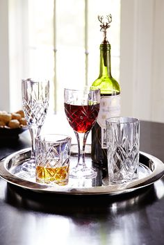 A time-honored tradition like Thanksgiving deserves a little vintage style. Pier 1's elegant Claude glassware will take your Thanksgiving gathering to the next level of sophistication and splendor.