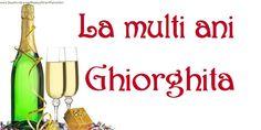 Felicitari de Sfantul Gheorghe - La multi ani, Ghiorghita - mesajeurarifelicitari.com Georgia, Birthday, Birthdays, Dirt Bike Birthday, Birth Day