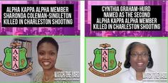 Remembering Sorors Sharonda Coleman-Singleton and Cynthia Graham-Hurd #CharlestonShooting