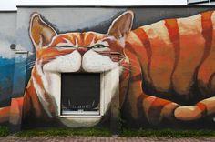 Wrocław, Poland street art 000