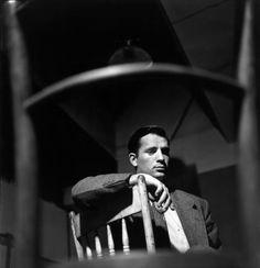 "Jack Kerouac photographed by Elliott Erwitt, 1953 """