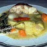 ψαρόσουπα,λαχανικά