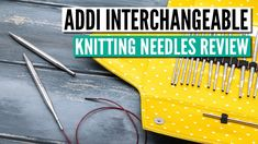 Interchangeable Knitting Needles, Knitting Supplies, The Creator