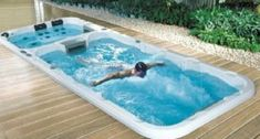 Get a best swim pool spa with hybrid UAE. Hybrid is one of the biggest names in Swim pool spa has purchased perhaps the oldest manufacturer of current pools and swim spas pool. Endless Swimming Pool, Indoor Swimming Pools, Swimming Pool Designs, Endless Pools, Small Backyard Pools, Small Pools, Kleiner Pool Design, Pool Prices, Swim Spa Prices