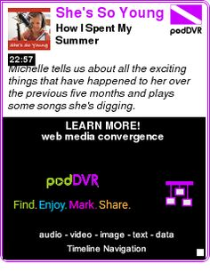 #UNCAT #PODCAST  She's So Young    How I Spent My Summer    LISTEN...  http://podDVR.COM/?c=ac095e33-27c9-938c-ddf4-f29a76519232