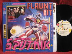 SIGUE SIGUE SPUTNIK Flaunt It Lp Vinyl Record Album