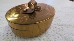 Vintage Ring Holder Brass Jewelry Holder Rings n by TimesPast72