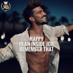 "612 Likes, 6 Comments - Your Success Is Our Goal (@risebeyond.fam) on Instagram: ""Happy is an inside job, remember that - TAG your friends :) - : @marianodivaio"""
