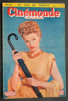 'CINEMONDE' FRENCH VINTAGE MAGAZINE RITA HAYWORTH COVER 26 DECEMBER 1949 | eBay