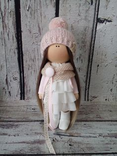 Blondy doll Interior doll Tilda doll Art doll by AnnKirillartPlace