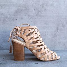 sbicca - geovana women cage sandal - blush