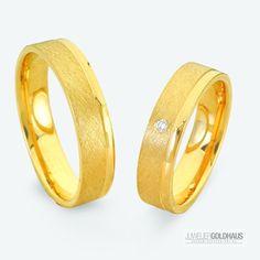 #Trauringe #Eheringe Gold Gelbgold - C045