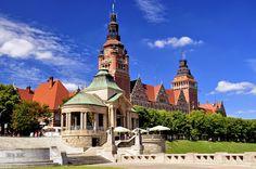 Szczecin Wały Chrobrego Stettin Польша