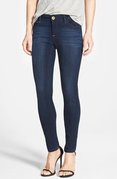 DL1961 DL 1961 'Amanda' Skinny Jeans (Moscow) available at #Nordstrom