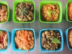 Hoje a nossa nutricionista dá uma dica de receita nutritiva e fácil de fazer: Muffin de Legumes. Este bolinho de legumes é uma ótima opção de lanchinho para levarmos ao trabalho e também para a lancheira das crianças que vão para a escola.