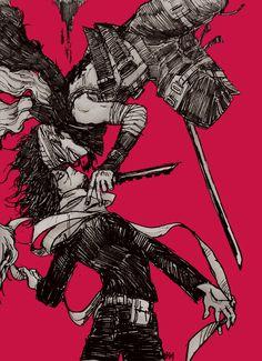 Boku no Hero Academia    Akagure Chizome, Aizawa Shouta.