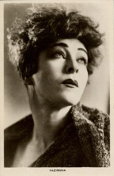 Film actress Alla Nazimova, 1920s