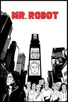 Mr. Robot  fan art