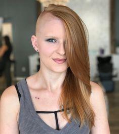 Sidecut Lange Haare
