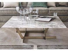 REGENT Marble coffee table Regent Collection by Casamilano