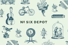 Actualité / No. Six Depot mise sur l'authenticité  / étapes: design & culture visuelle