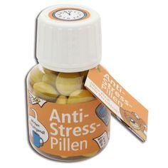 Anti-Stress-Pillen -  Ohne Fleiß kein Verschleiß!