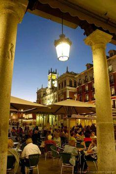 Plaza Mayor, Castilla y Leon, Spain