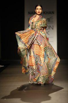 Sari Summer 2013 Designer Wear at India Fashion Week