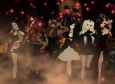 On IMVU Halloween 2015