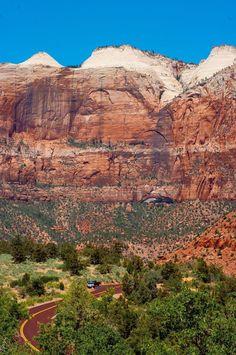 Zion Canyon, Nature Print