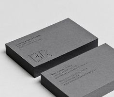 Pro Inspiration Board: Business Card Design: the best of the selection