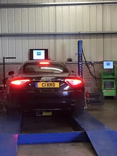 Maserati benefitting from the finest Bosch Wheel Alignment equipment Wheel Alignment, Maserati, Edinburgh, Centre, 3d