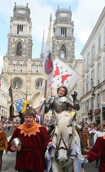 Orléans célèbre les 600 ans de Jeanne d'Arc