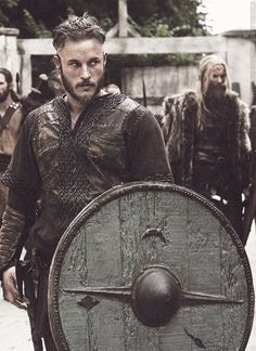 Travis Fimmel as Ragnar Lothbrok - Wrath of the Northmen - Vikings - History Channel Series.